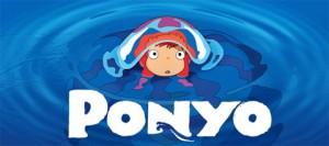 """Cartel de la película """"Ponyo en el acantilado"""""""