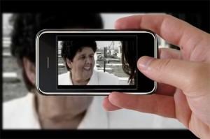 """Imagen de una de las protagonistas de este cortometraje """"Las Esperas"""""""