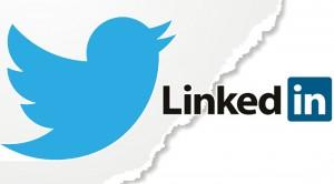 Twitter y Linkedin