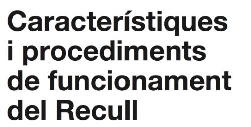 Procediment Recull